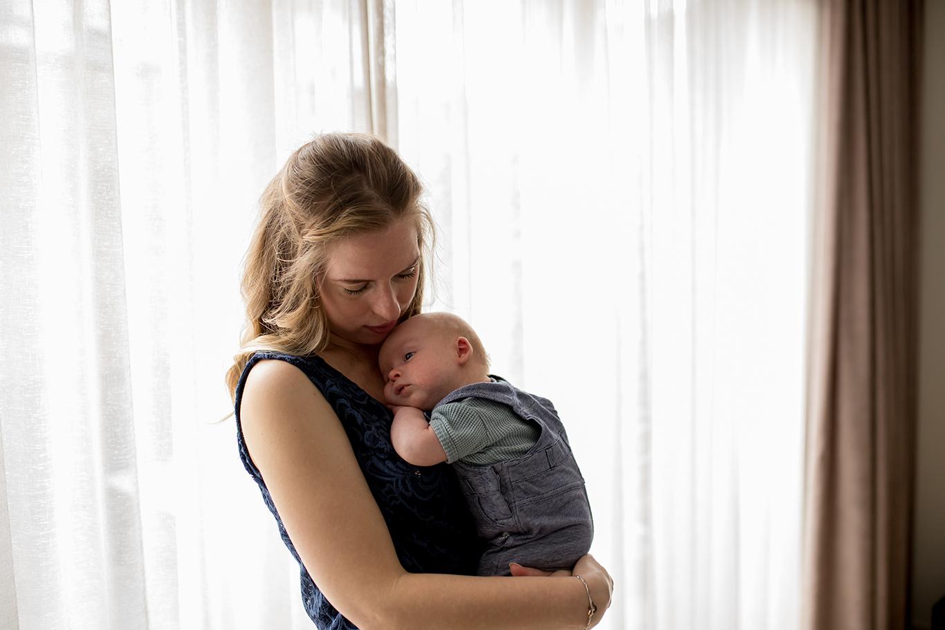 Baby fotoshoot in friesland _ karijn fotografie